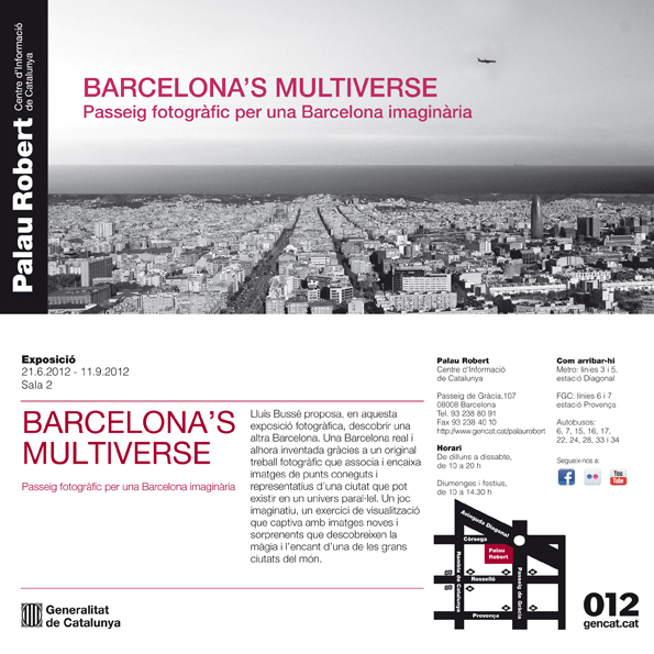 Barcelona's Multiverse - Passeig fotogràfic per una Barcelona imaginària