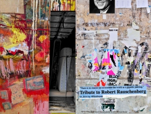 """There is no reason not to consider the world as a gigantic painting."" Tribute to Robert Rauschenberg"