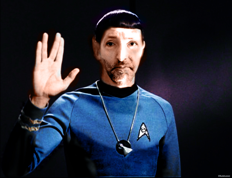 Tribute to Mr. Spock