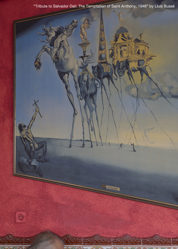 Tribute to Salvador Dalí: The Temptation of Saint Anthony, 1946
