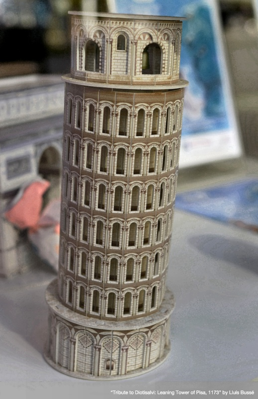 Tribute to Diotisalvi: Leaning Tower of Pisa, 1173