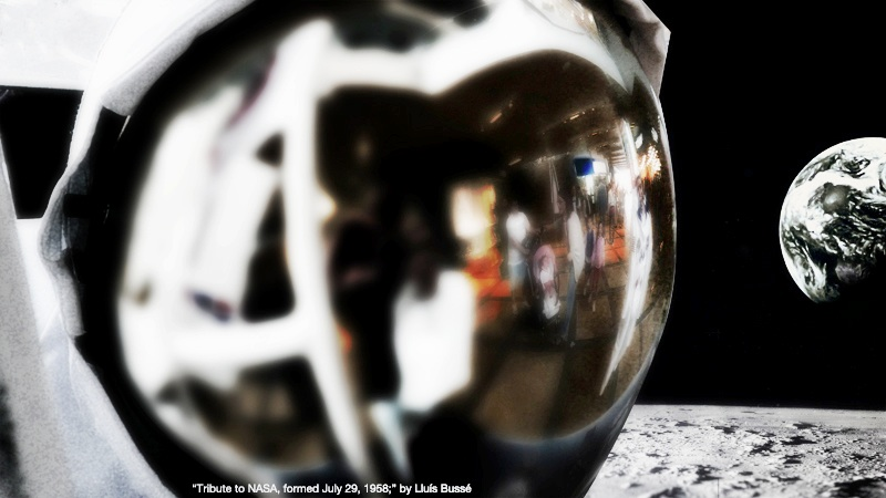 Tribute to NASA, formed July 29, 1958 | Lluís Bussé