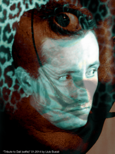 Tribute to Dalí (Selfie)